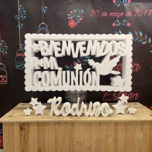marco bienvenido a comunion