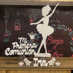 Bailarina primera comunion